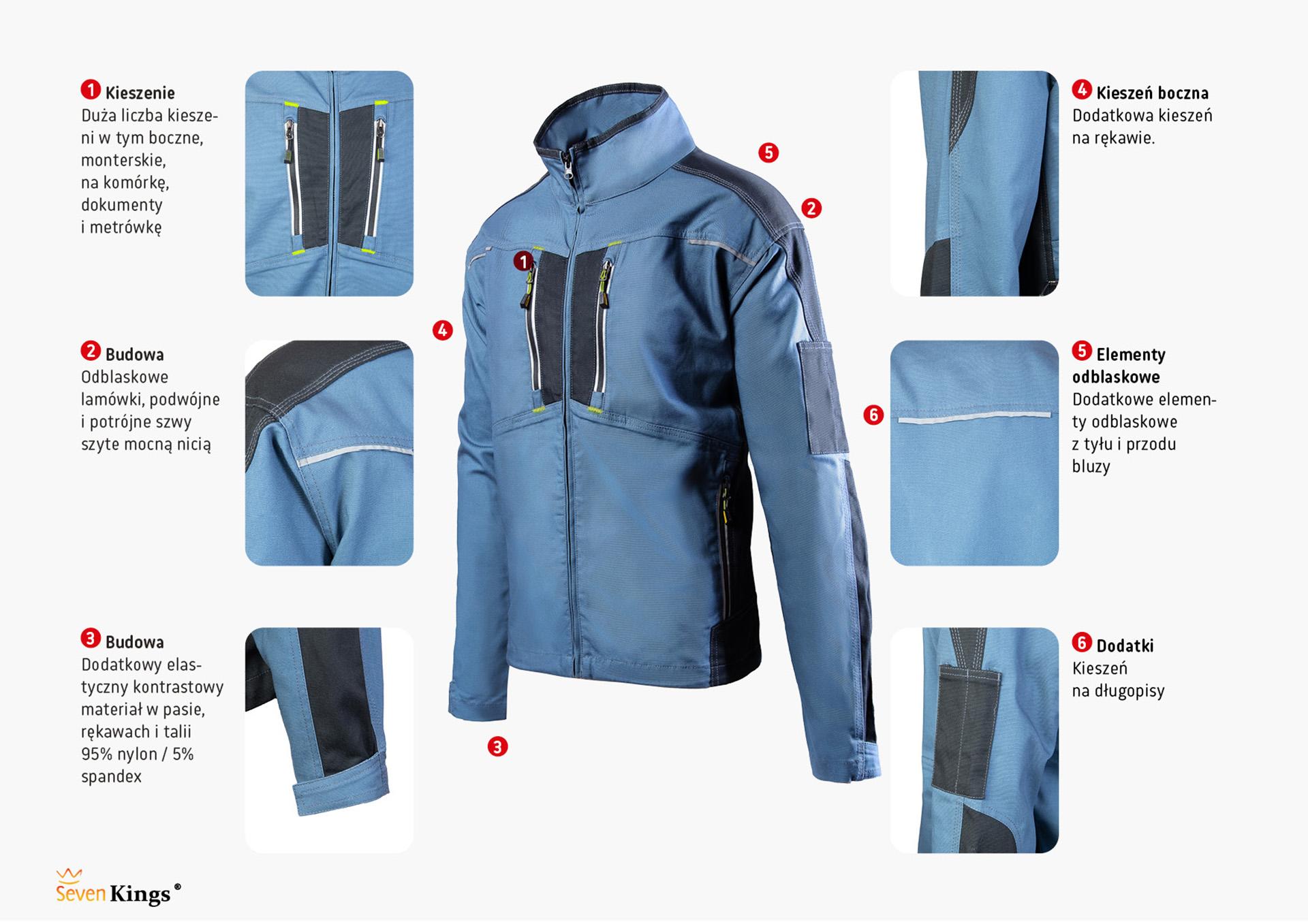 Bluza SevenKings PRO